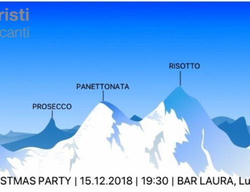 Christmas Party 2018 – 15.11.2018 – Bar Laura, Lugano